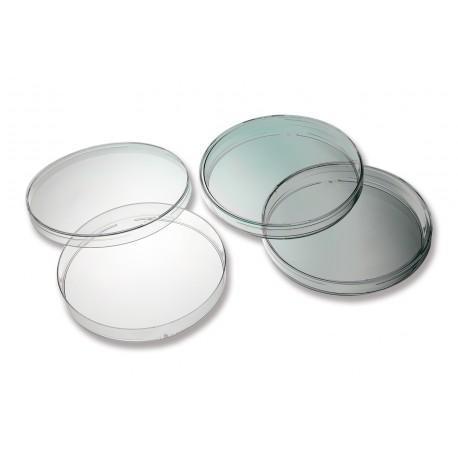 Placa Petri de plástico redondas